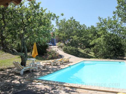 Exceptionnelle La Piscine De La Location De Vacances Villa à Verfeuil ,Gard