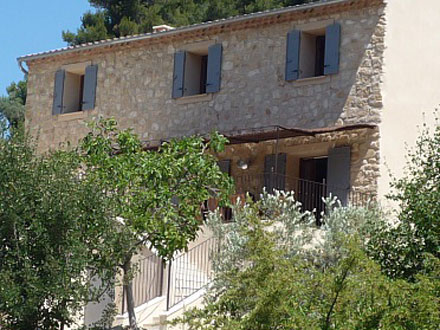 Detached villa in La Roque-Alric