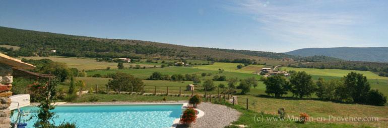 Mas en pierre piscine face un magnifique panorama sur for Piscine 2 alpes