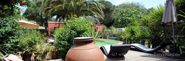 Maison en provence villa six fours les plages var for Comhoraire piscine six fours