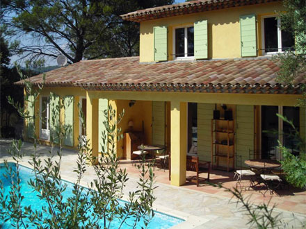 Holiday detached villa private pool in trans en provence var south of f - Maison de provence decoration ...
