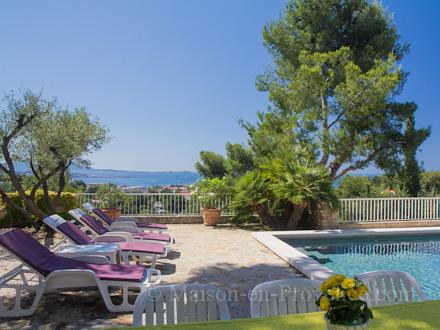 villa piscine priv233e belle vue mer 224 bandol var
