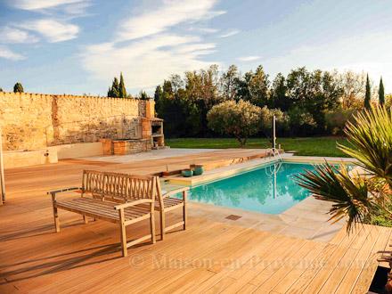 villa piscine priv e la campagne aucun vis vis