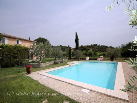 Maison en provence villa vaison la romaine vaucluse for Piscine romaine