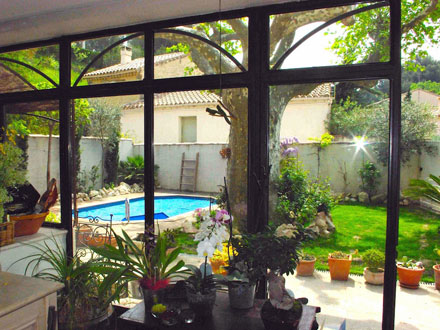 Holiday detached house private pool near the center of - Petite piscine dans petit jardin ...