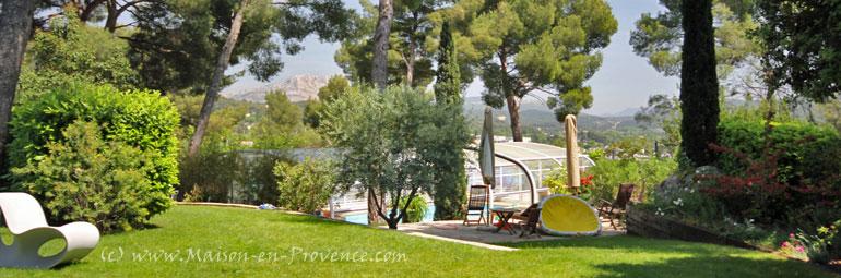 Maison en provence villa aix en provence bouches du - Maison jardin toulouse aixen provence ...