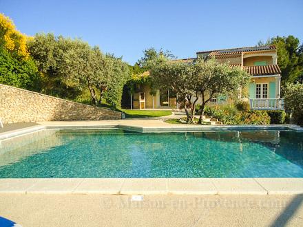 Villa Piscine Prive Sur Les Hauteurs De Jonquerettes Avec Vue