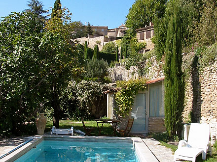 holiday proven al detached house private pool provencal house in luberon in bonnieux. Black Bedroom Furniture Sets. Home Design Ideas