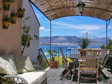 Villa vue mer panoramique saint mandrier sur mer var for Restaurant st mandrier