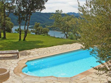 villa piscine priv e vue panoramique sur le lac de saint