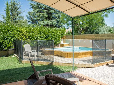 Villa piscine priv e dans un lotissement calme 10 km d 39 avignon entraigues sur la sorgue - La table d or entraigues sur la sorgue ...