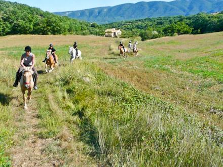 Promenades � cheval