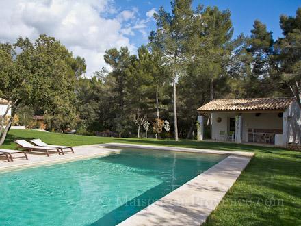 Villa piscine priv e pr s d 39 aix en provence aix en for Piscine bouche du rhone