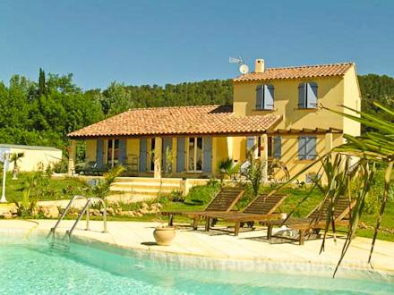 Villa piscine priv e la bouilladisse bouches du for Location vacances bouches du rhone piscine