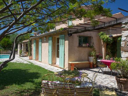 Villa piscine priv e 300 m des tennis saint paul de vence alpes maritimes location de - La villa berkel par paul de ruiter ...