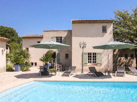 The Villa Of The Holiday Rental Villa At Saint Tropez ,Var