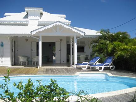 Villa piscine priv e vue mer 200 m pied d 39 une plage de sable fin - Architecte guadeloupe maison ...