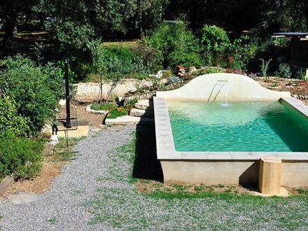 Mas piscine priv e a proximit du mont ventoux for Club piscine lafontaine