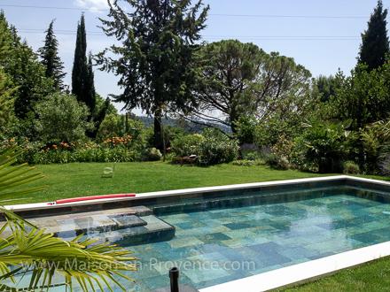 villa piscine priv e au calme proximit du centre ville aix en provence bouches du. Black Bedroom Furniture Sets. Home Design Ideas