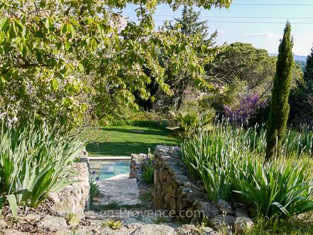 Villa piscine priv e au calme proximit du centre - Les jardins d arcadie aix en provence ...