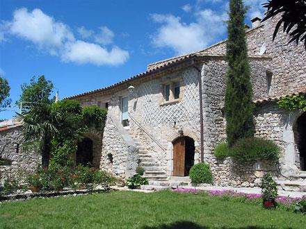 Ancienne magnanerie à Saint-Hippolyte-du-Fort