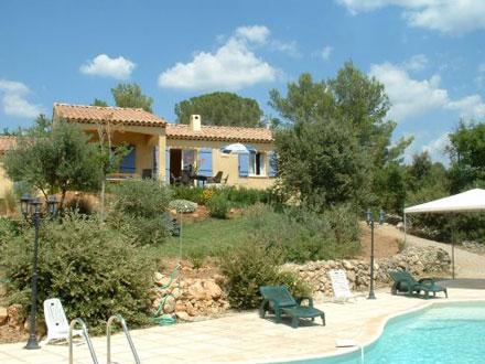 Villa, piscine privée, au coeur de la Provence Verte, à Bras, Var