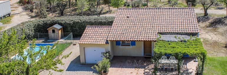 Villa piscine priv e a l 39 entr e du domaine du golf de for Le jardin mallemort
