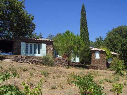 Proven�al detached house in La Garde-Freinet