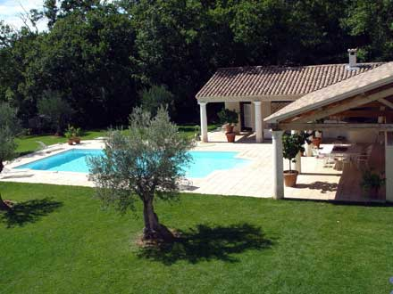 Villa piscine priv e grand confort et d coration soign e martignargues gard location de - Photos pool house piscine ...