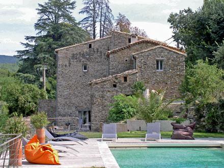 Mas dans les c vennes piscine priv e une maison d 39 exception au coeur d - Mas dans les cevennes ...