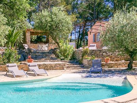 Villa Piscine Prive Dans Une Proprit De  Ha  Flayosc Var