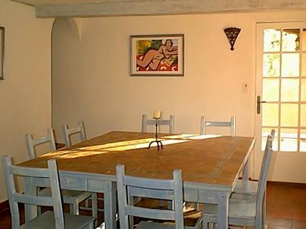 Location villa flayosc var ref m655 for Salle a manger flayosc