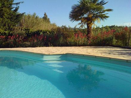 Villa piscine priv e avec vue sur les alpilles for Location vacances bouches du rhone piscine