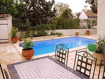 Villa piscine priv e en bordure de montpellier 13 km for Piscine privee montpellier