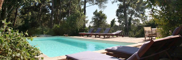 Villa Piscine Priv E Sur Les Hauteurs D 39 Aix En Provence